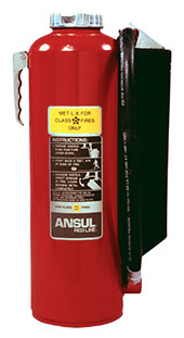 Class D Dry Powder Fire Extinguishers