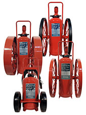 Wheeled Fire Extinguishers