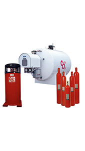 The Ansul CO2 Fire Suppression System