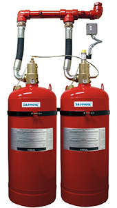 The Pyrochem FM-200 Fire Suppression System